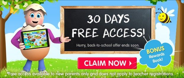 Learn to Read in 30 Days for FREE. 30-day trial with free rewards book. Click Here