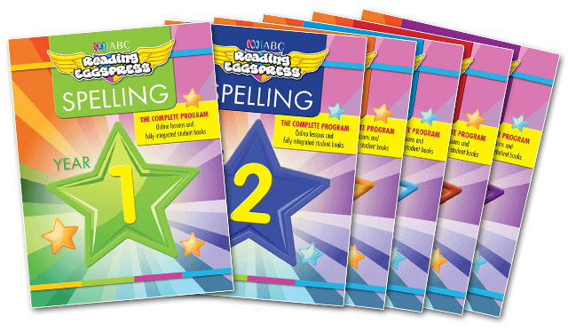 Reading Eggspress Spelling Books